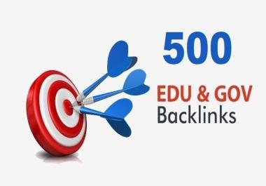 Create 500 Edu and Gov Redirect Backlinks