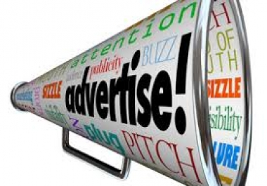 promote and advertise your website, book, business, app or any link promotion