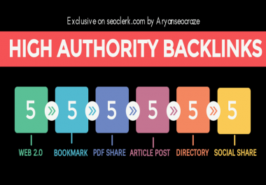I will do Pr9 High Authority Manual seo Link building, backlinks