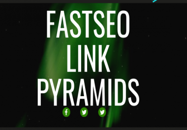 Fastseo Link Pyramid skyrocket Google Ranking Strategy Service for SEO improvement