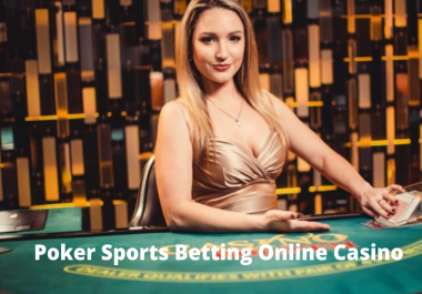 Create Poker Sports Betting Online Casino site Backlinks Service highly and Permanent SEOvalue