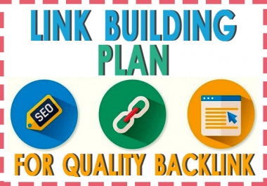 Quick Rank On Google SEO Link Building Plan for Quality Backlinks