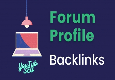 100+ High Quality Forum Profile backlinks for SERP and SEO Ranking Your Website
