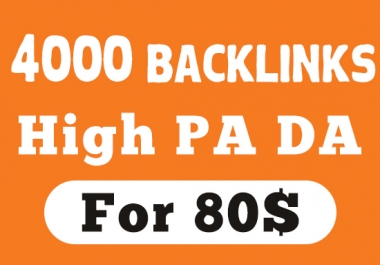 I will Make 4000 Software SEO backlinks on High DA PA UNIQUE
