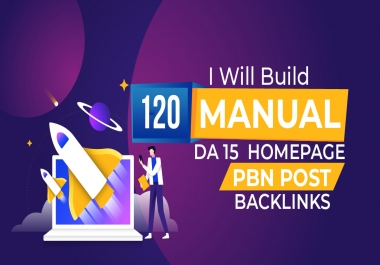 I will 120 high metrics powerful PBN contextual backlinks