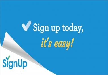 75 website Affiliate or Referral signups with real email confirmation