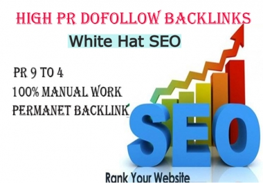 do 100 dofollow white hat live backlink for google first page