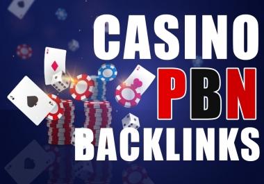 I Will Do 50PBN DA/DR 50to70 Indonesian/Thailand Keywords Casino/Poker PBN DR50to70 Highly Backlinks