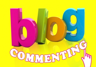 Manually Create 29 high quality dofollow blog comments on actual pages
