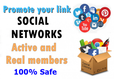 promote anything to Linkedin Twitter tumblr and other 20+ networks