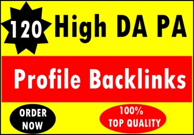 120+ Pr9 To Pr6 Manually Create Authority Profile Backlinks-Top Quality
