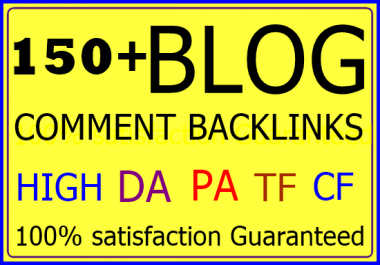 150 Niche Relevant Manually Blog Comment-Top service in seoclerk