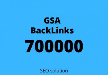 I will create GSA 700000 Verified SEO backlinks for you website rank on google