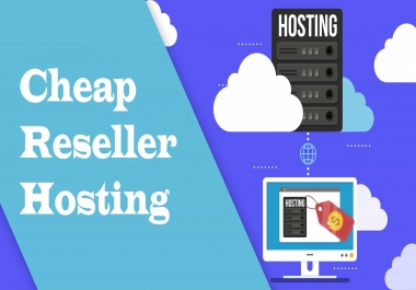 Reseller hosting - 3 Cpanel account - 20 GB Space - 1 month - Money back Grantee