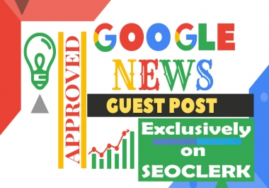 Guest Post On My Google News Approved Website With Writing & Dofollow Link