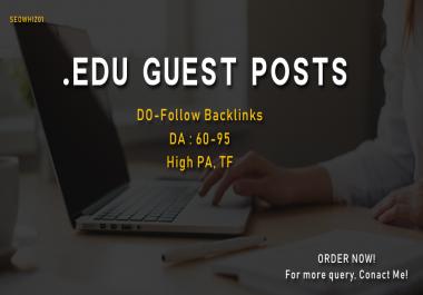 Write and Publish 3*EDU Guest posts - DA 70+
