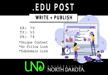 Write and Publish EDU Post on UND.EDU
