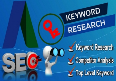 I will do proper SEO keyword research for your niche