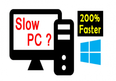 Fix slow working windows computer and laptop