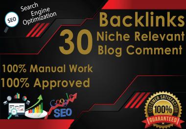 Do 30 high & DA PA Blog Comments