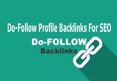 Build 25 High Authority Do Follow Profile Backlinks For SEO