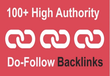 I will provide you 100+ Authority backlinks., with DA 70+