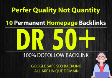 10 permanent DR 50 dofollow pbn links