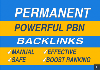Do 5 powerful da pa dofollow permanent pbn links