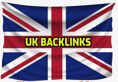 Make 21 permanent UK backlinks with high da sites