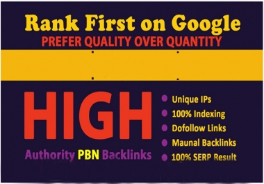 High quality 300 dofollow backlinks for off page SEO