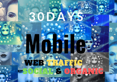 Real organic and social media traffic Resellers