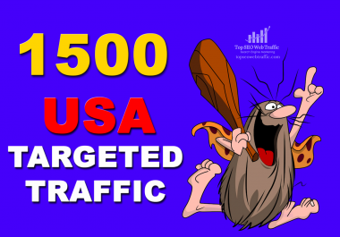 I WILL SEND 1,500 HIGHT QUALITY USA WEB TRAFFIC VISITORS FOR 3 DAYS