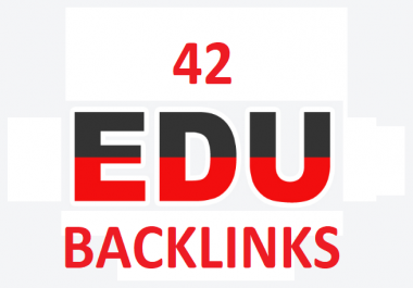 42 EDU Backlinks Manually Created From Big Universities List Inside Affordable Price
