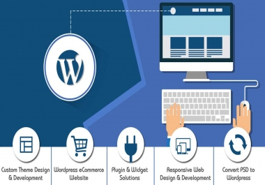 i will build a wordpress blog website for you