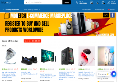 Build Multi vendor Ecommerce marketplace like Amazon/Aliexpress