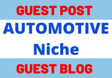 Write & Publish 1 Guest Post Blog Post On Automotive Niche Website blogmagazine.net