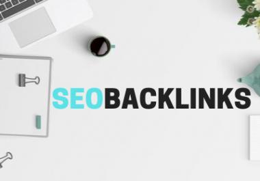 High Quality SEO Backlinks Web 2.0 + PR9 DA 70 + Wiki + Forum + EDU Backlinks