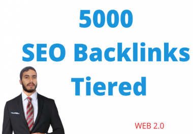 Build 5000+ Tiered SEO Contextual Backlinks