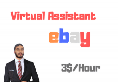 Virtual Assistant For ebay, Product research, listing, and more, 1 hour