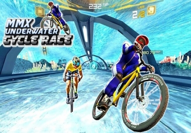 BMX Bicycle Race Underwater Stunts unity code