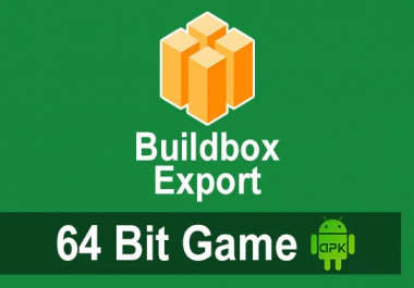 Export Buildbox To 64bit Apk Game From Bbdoc Project