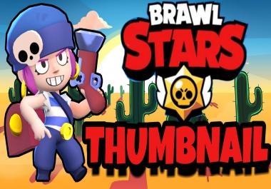 Amazing BRAWL STARS Thumbnail for YouTube, Instagram, Twitter