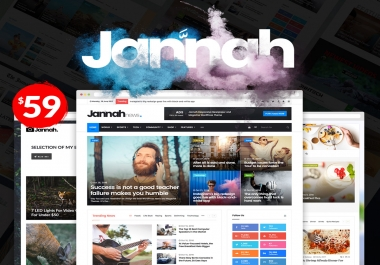 Install Jannah ( Premium Newspaper Style) Theme on your wordpress