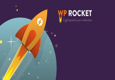 Provide you WP-Rocket plugin - Make WordPress Load Fast in a Few Clicks