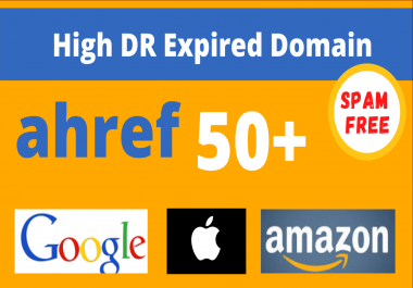 find 30+ Ahrefs DR Expired Domains