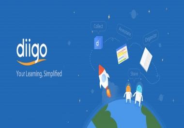 Write and publish guest post on diigo.com da 90