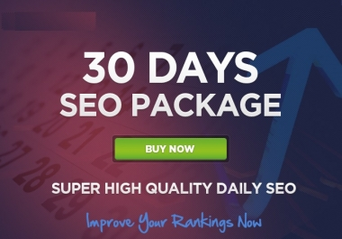 Boost Google Ranking By 30 Days SEO Backlinks Service With High DA-PA-TF 100-80 Sites