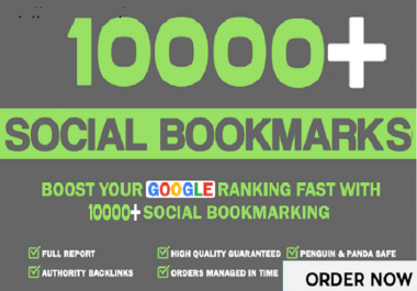 Add 10,000+ HQ Social Bookmarks Backlinks For Boost Alexa Rank In Your Website,Keyword and Youtube