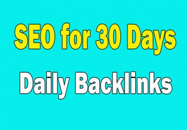 I will complete SEO of your website for 30 days