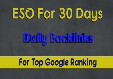 Rank Your Website on Googl for 30 Days SEO Backlinks Manually